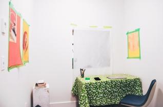 Residency Space, Artist-in-Residence, Nick Howe, January 2018
